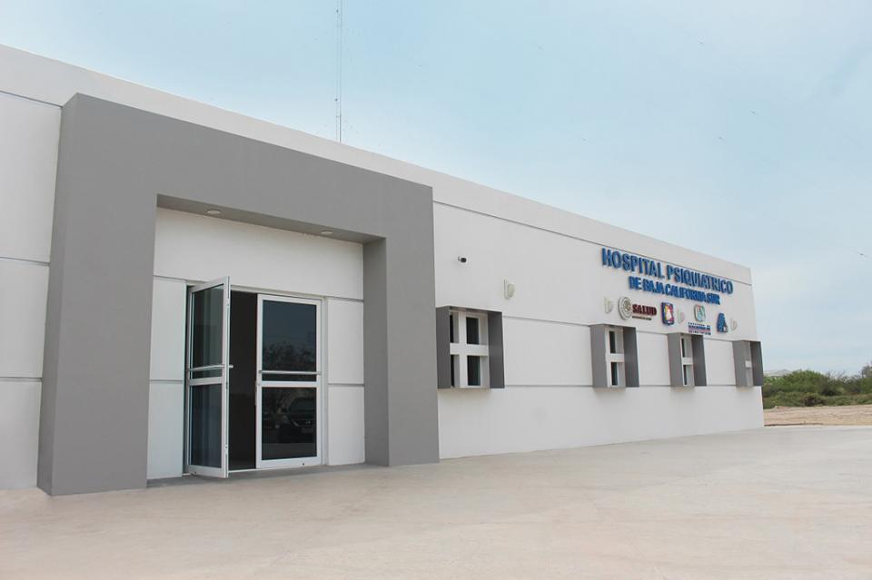 Inicia operaciones el nuevo hospital psiquiátrico del estado
