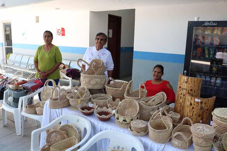 Artesanos sudcalifornianos reciben apoyo de la Secretaría del Trabajo