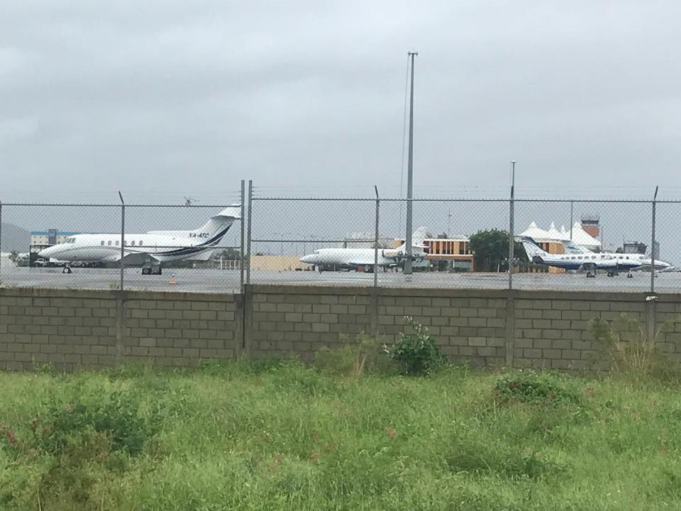 Raymond provoca desviación de 7 vuelos y 12 más varados en Los Cabos