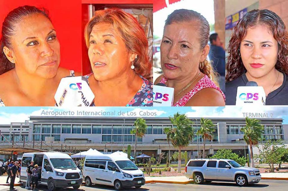 Ciudadanos califican como positivas las inversiones en Aeropuerto Internacional de Los Cabos