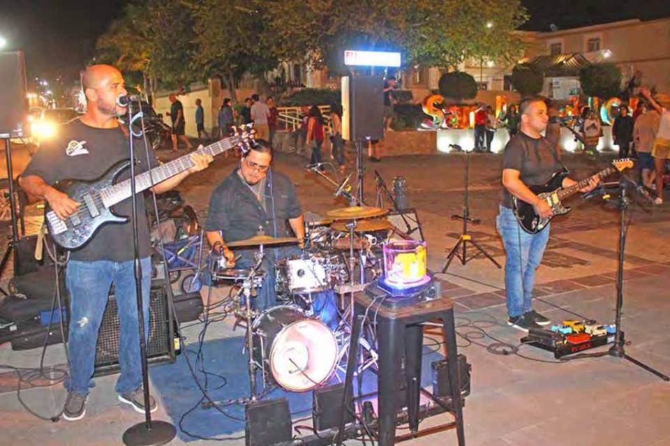 """""""La música es un arte que se tiene que celebrar"""", afirmó la reconocida banda de rock """"La Biznaga"""", en el Día del Músico"""