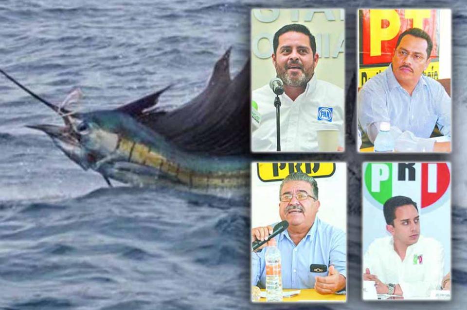 """Llaman PAN, PRD, PT y PRI a evitar """"madruguete"""" en liberación del dorado a pesca comercial"""