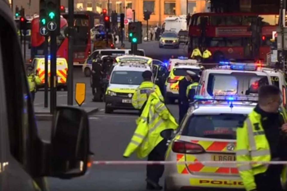 Un muerto y varios heridos en ataque en Puente de Londres
