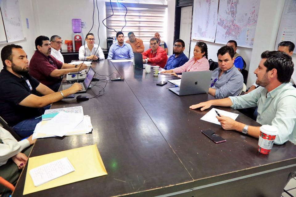 Preparan Gobierno Municipal y SEDATU obras de alumbrado y pavimentación en CSL