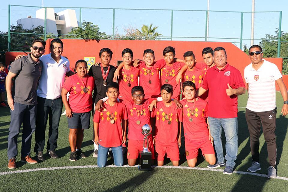 "Concluye la séptima edición""Liga Golazo Kids 2019"" en Cabo San Lucas"