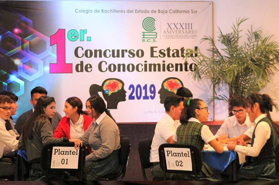 Realiza COBACH Primer Concurso Estatal de Conocimientos