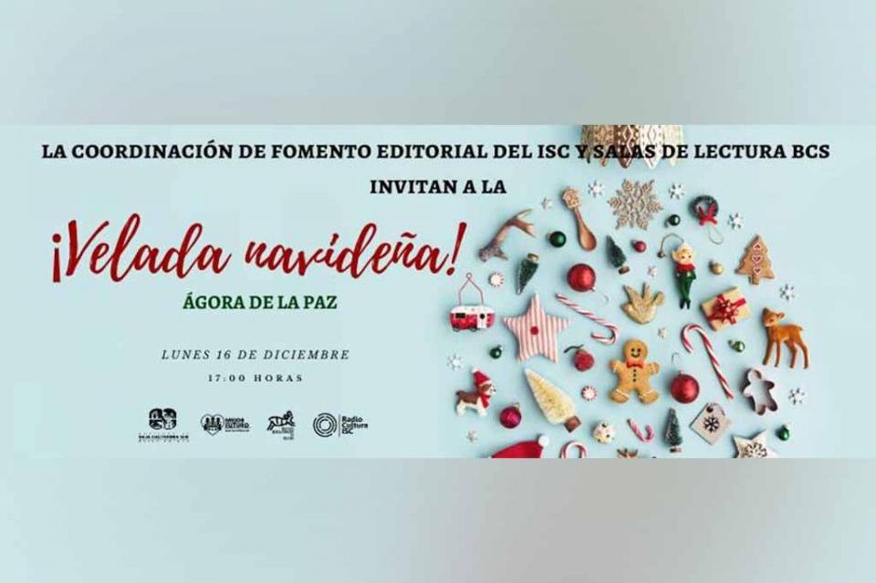 Instituto de Cultura de BCS llevará a cabo Velada Navideña