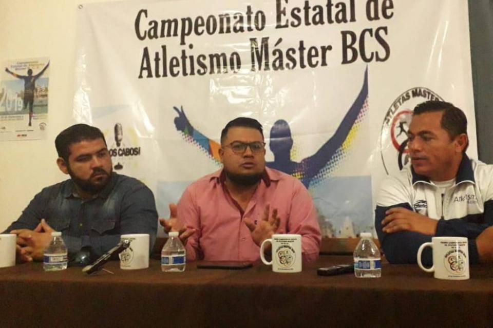 Los Cabos será sede del primer Campeonato Estatal de Atletismo Máster