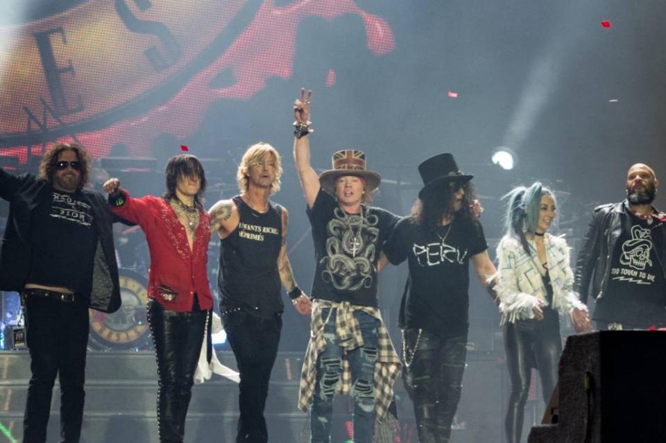 Guns N´ Roses se presentará en el Vive Latino 2020; anuncian cartel por día