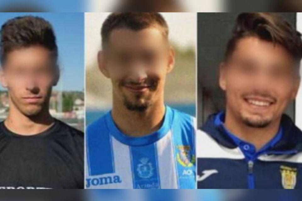 Condenan en España a 3 ex futbolistas por agresión sexual a una menor