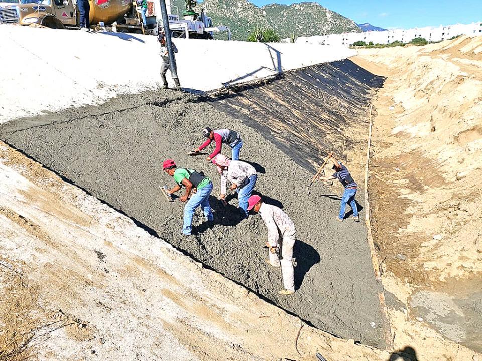 Inicia Conagua obra de protección en el arroyo El Zacatal  para evitar colapsen más edificios en Puerto Nuevo