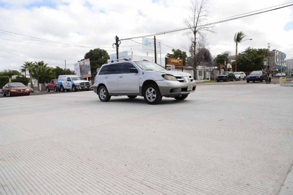 Inicia apertura de cruces viales en La Paz