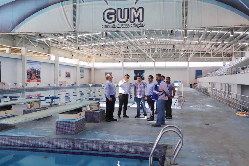 Avanzan trabajos de rehabilitación en el GUM de La Paz