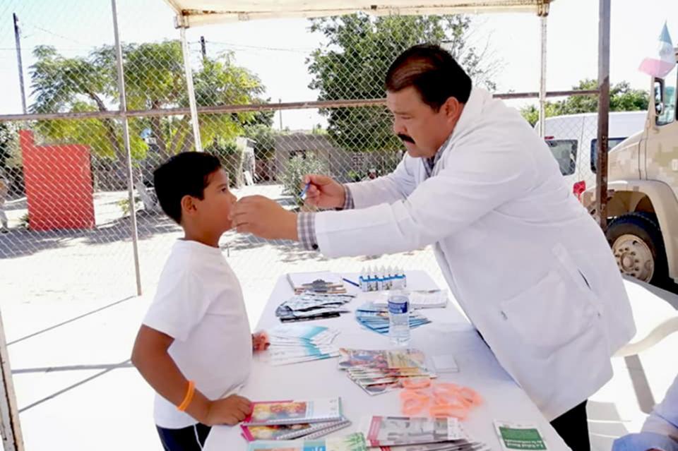 Salud promovió el cuidado bucal entre familias comundeñas