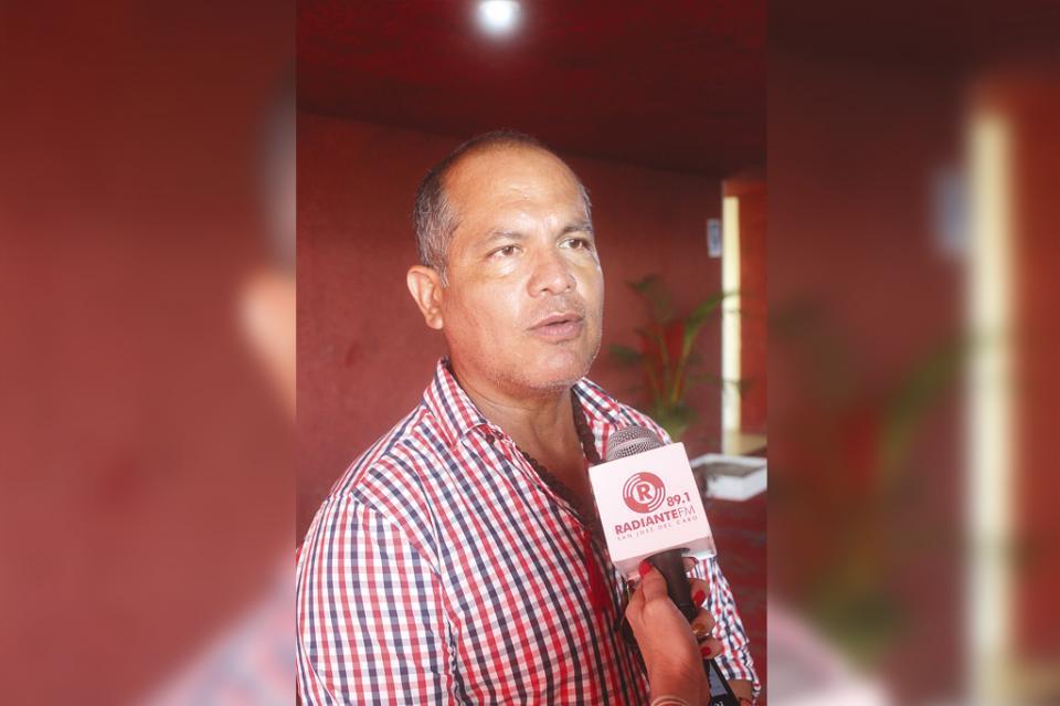 Las casas de  apuesta son la  puerta a la perdición, señala Carlos Tinoco