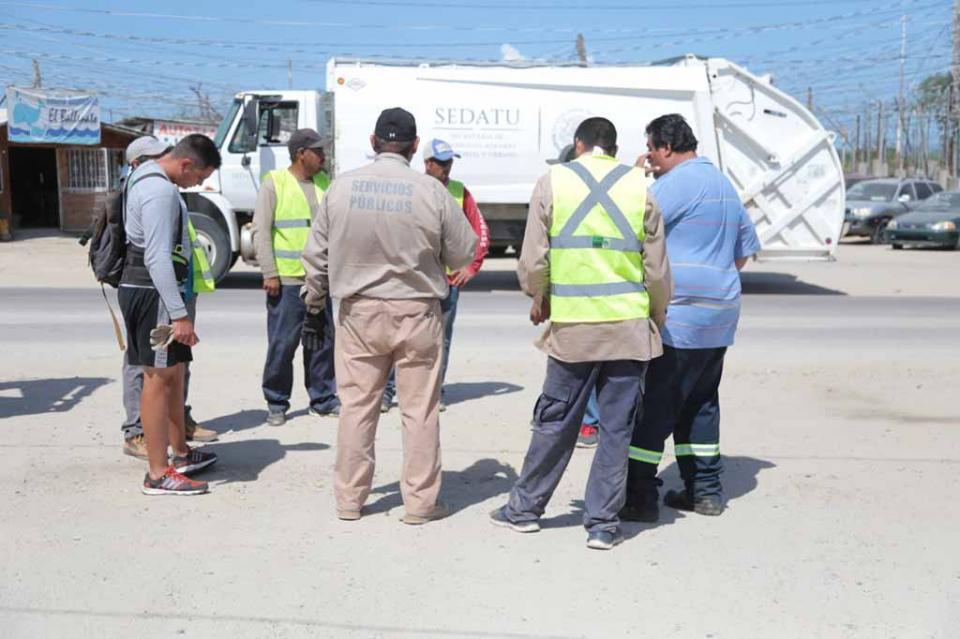 70 toneladas de basura son retiradas de zonas irregulares en SJC