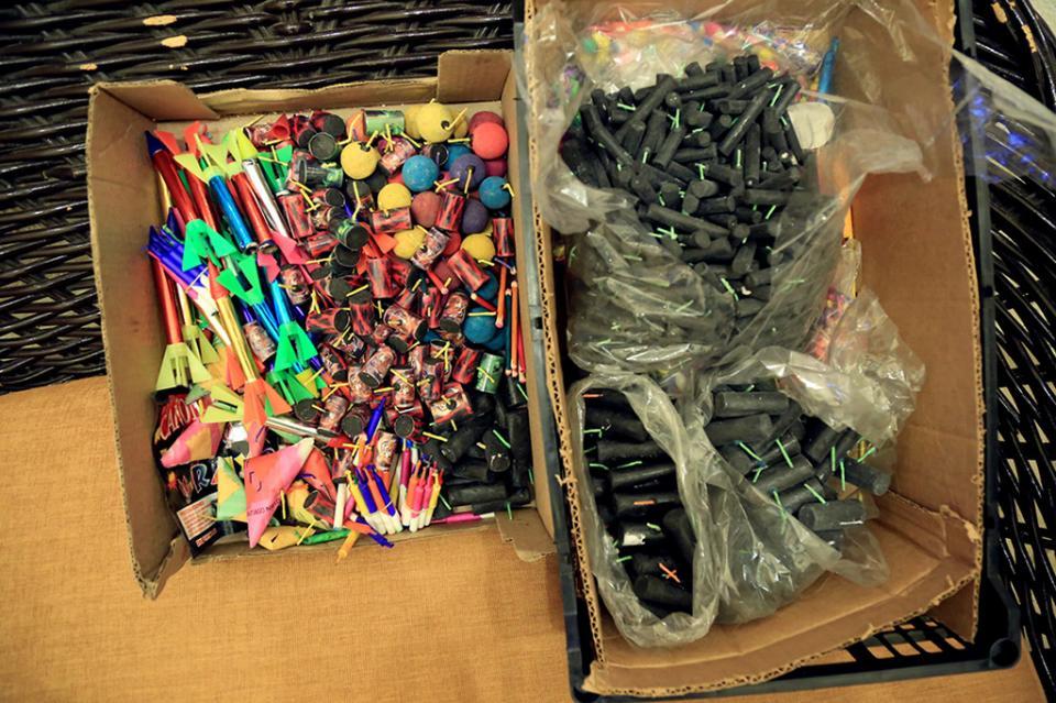 Protección Civil realiza recorridos para detectar la venta ilegal de pirotecnia en Los Cabos