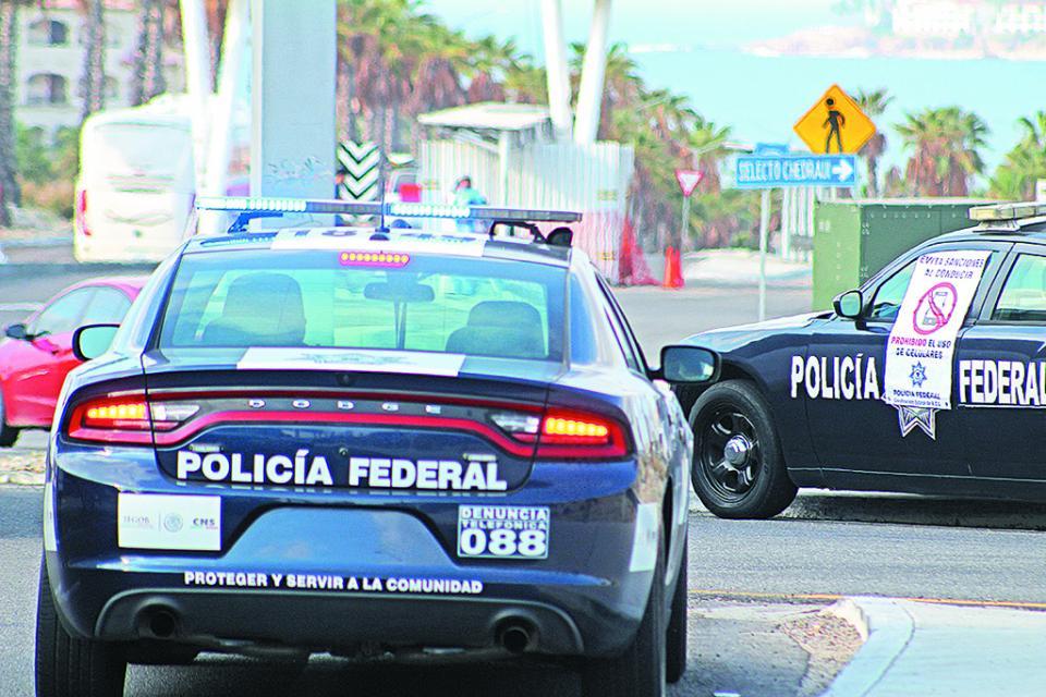 Policía Federal localiza automóvil con reporte de robo en Estados Unidos