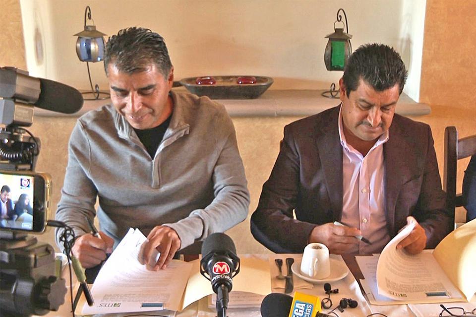 Signan convenio de colaboración Colegio de Arquitectos Los Cabos e ITES en pro de proyectos ejecutivos