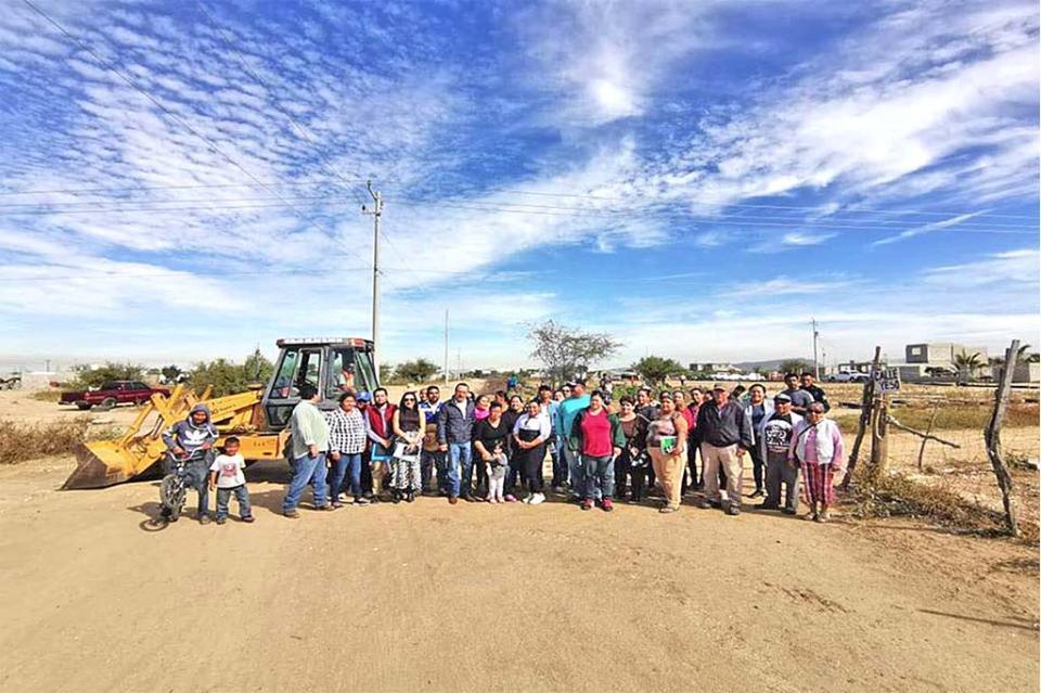 Inicia ampliación en red de agua potable de La Paz