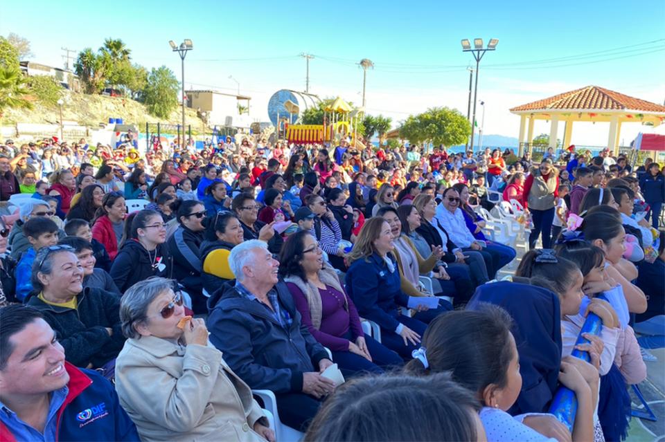 """Arranca """"Festival de Reyes 2020"""" en comunidad de Bahía Tortugas"""