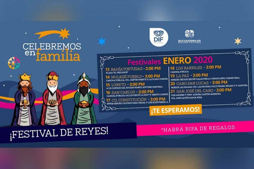 Realizará SEDIF gran gira estatal de Día de Reyes 2020