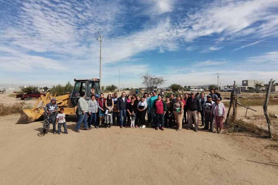 Comisión Estatal del Agua inicia ampliación en red de agua potable de La Paz