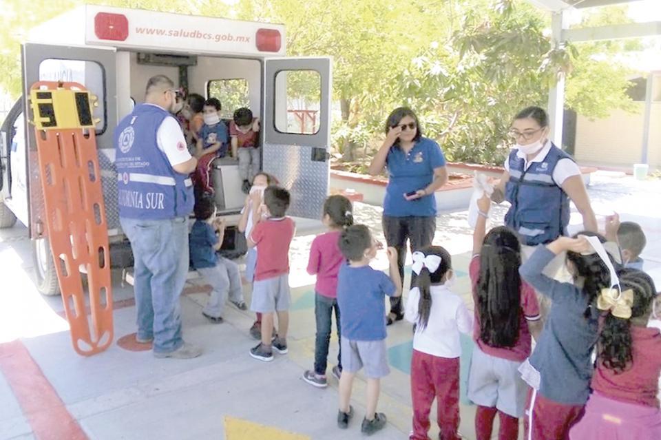 Avanza en fortalecimiento de la cultura de la protección civil