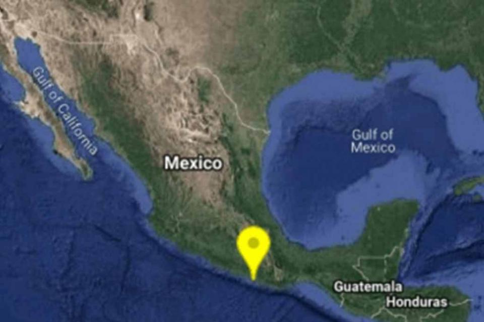 Sismo de magnitud 5.1 se registra en Oaxaca