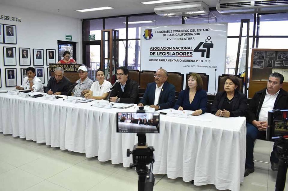 Refrendan diputados de MORENA y PT participación en la Asociación Nacional de Legisladores de la 4T
