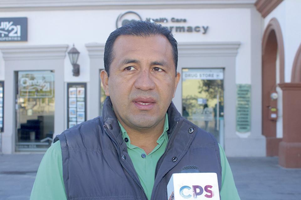 """""""Buscamos apoyo de Seguridad Pública para videovigilancia en centros  de desarrollo"""" Víctor Ortegón"""