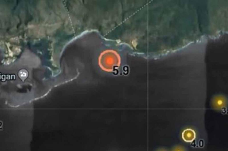 Reportan sismo de 6.0 en Puerto Rico