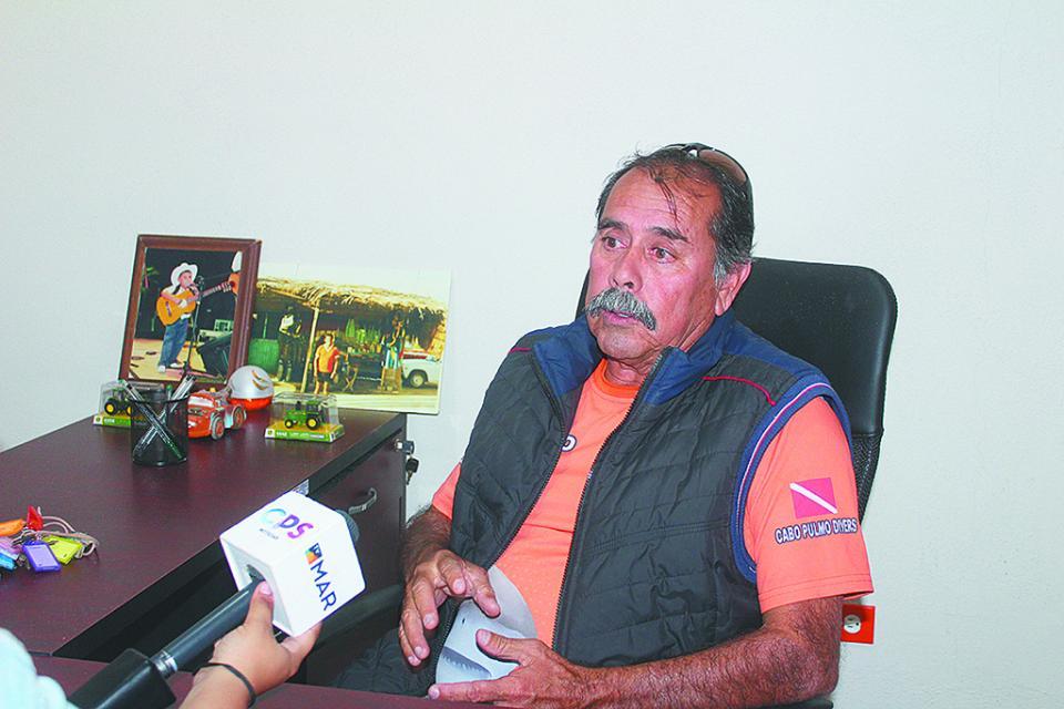 """""""Detectan durante enero 3 cimbras para pesca en límites de Cabo Pulmo"""" Pescador"""