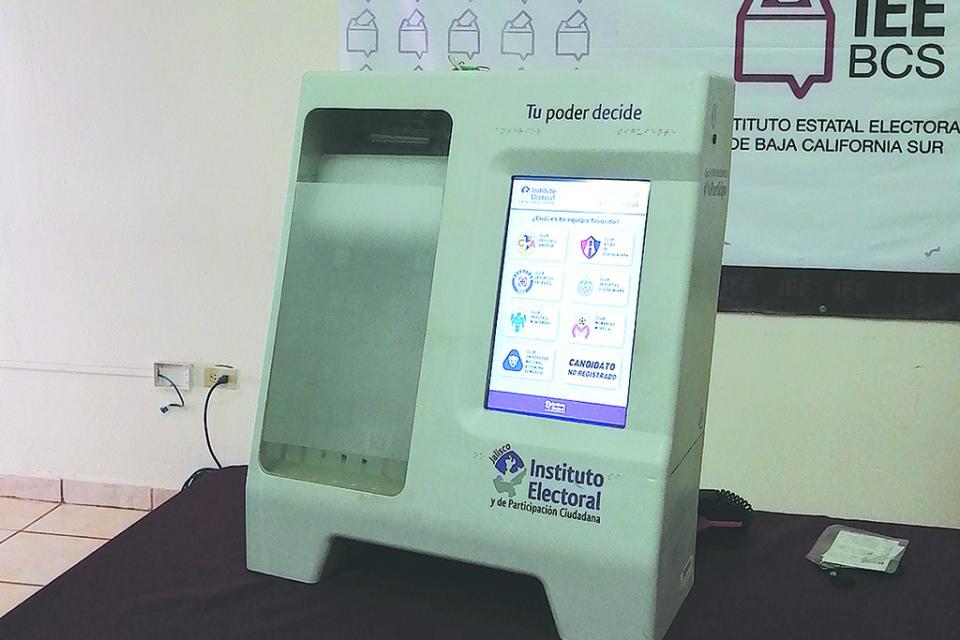 Uso de urna electrónica disminuye  hasta 75% impugnaciones en  procesos electorales