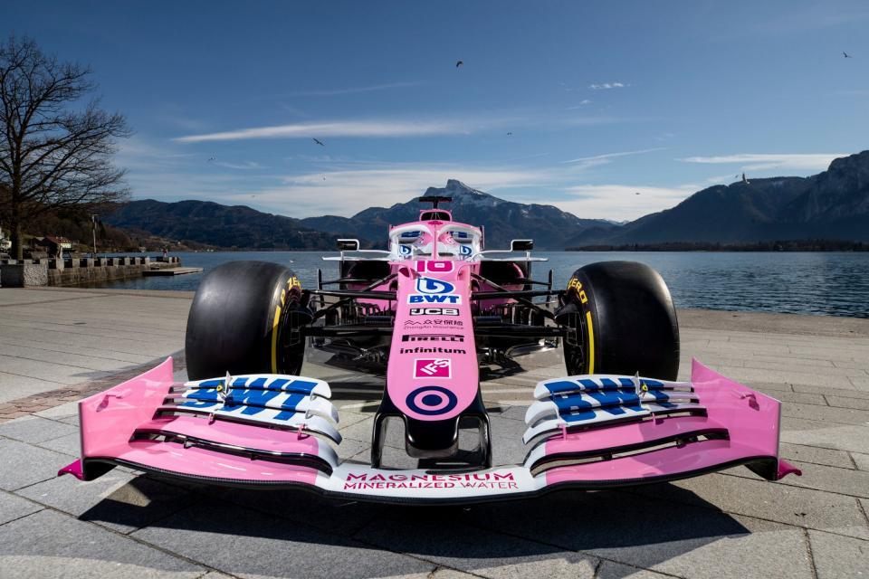 """Checo"" Pérez domina el test matutino de este jueves en F1"