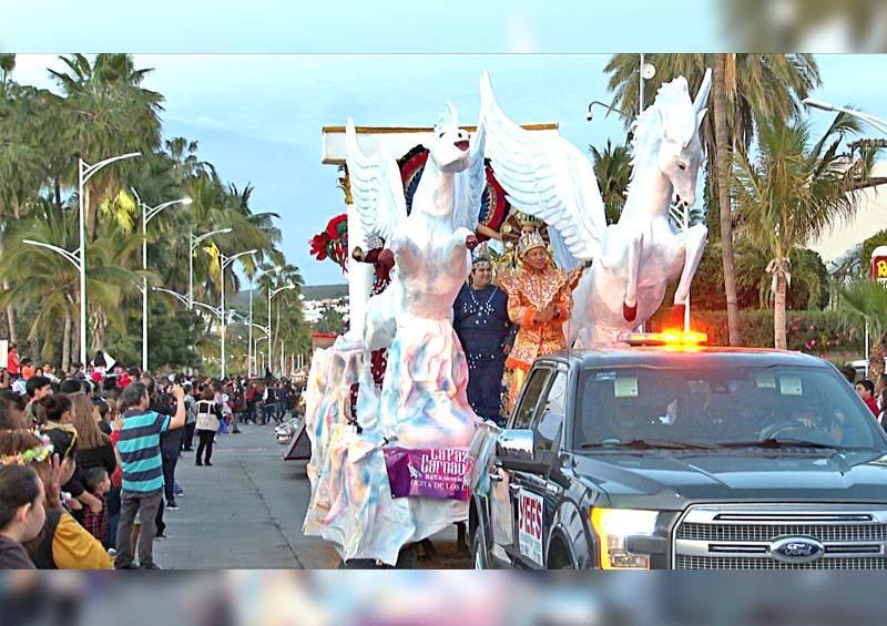 Llevarán Carnaval a delegaciones de La Paz