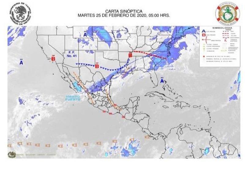 Persistirán fuertes vientos y alta marejada en Golfo de California y Pacífico Mexicano