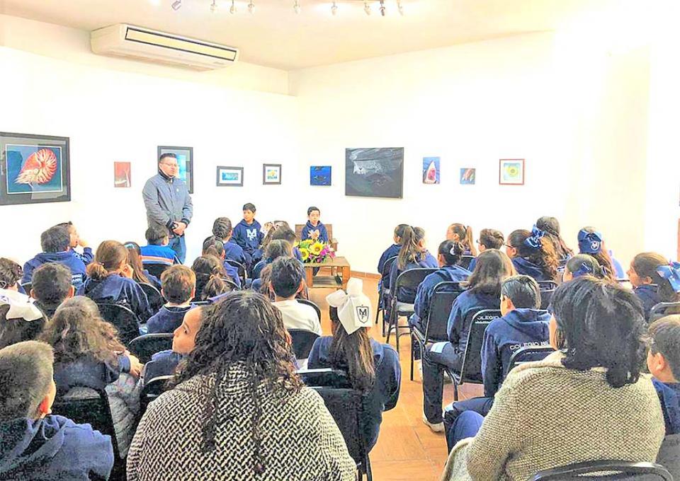 Cultura de BCS lleva a cabo Mini Feria Infantil  del Libro