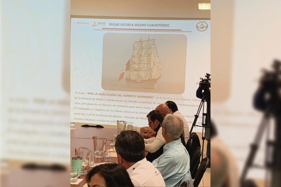 Llegará en noviembre el buque insignia de la Armada de México a Cabo San Lucas