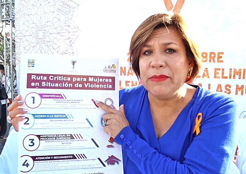 No más violencia en Los Cabos contra las mujeres: Lorena Cortés Torralbo