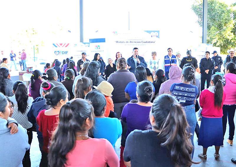 """Continúa programa """"Vivir en Paz"""" en delegación de El Carrizal"""