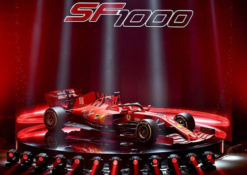 Ferrari presenta el SF1000 con el que alcanzará los 1000 Grandes Premios en la F1
