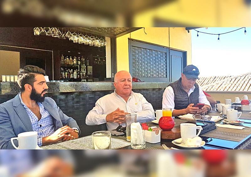 Se reúnen empresarios de Canacintra con experto en parques industriales para avanzar en proyecto para Los Cabos: Ricardo Davis