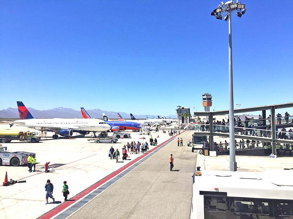 Fortalece Los Cabos conectividad aérea con Estados Unidos