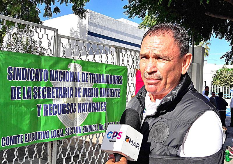 Toma sindicato instalaciones de Semarnat, piden destitución de la Delegada