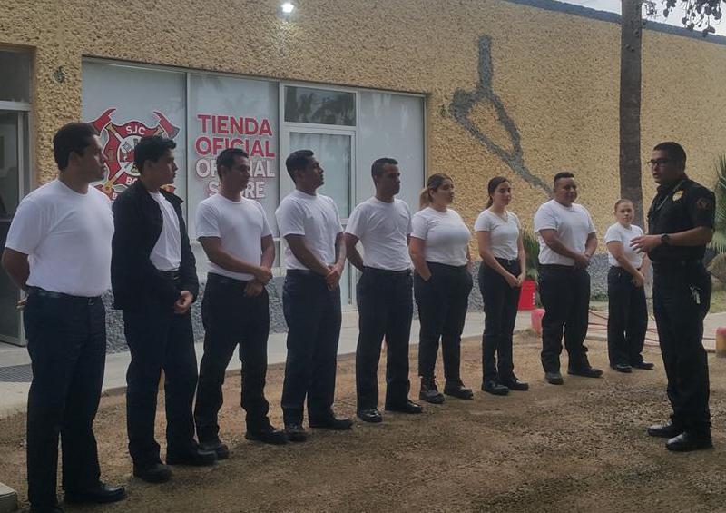 Inicia academia de paramédicos en Bomberos de SJC