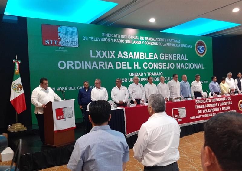 Celebran la LXXIX Asamblea General Ordinaria del H. Consejo Nacional SITATYR en Los Cabos