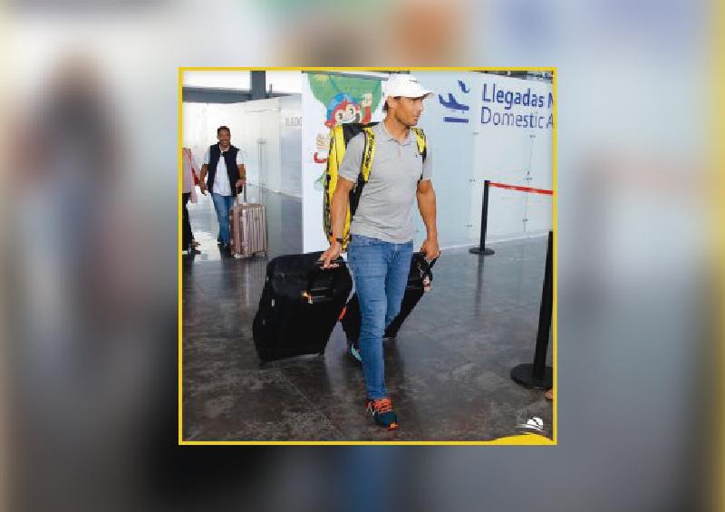 Llegó Rafa Nadal a Acapulco para el Abierto Mexicano de Tenis
