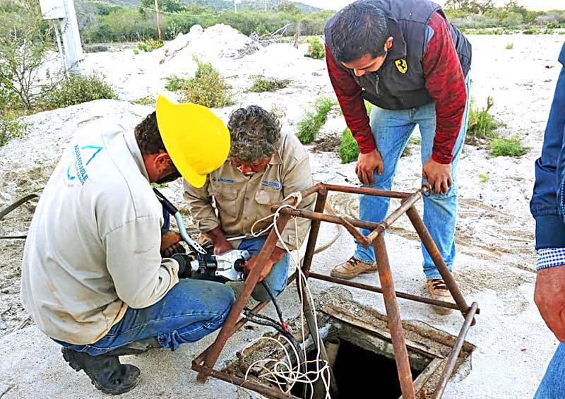 Realizan mantenimiento del pozo Zacatal II