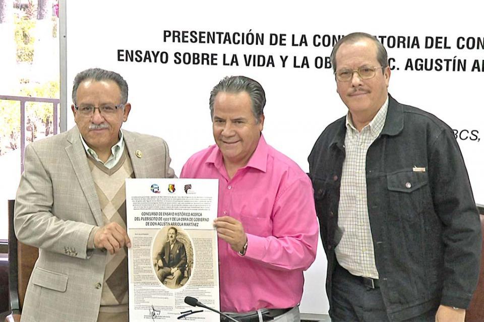 Convocan a concurso de ensayo para conmemorar a Agustín Arriola